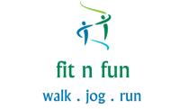 fit n fun walk jog run logo