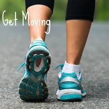 get moving trainers